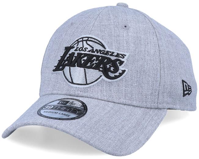 LA Lakers 39Thirty Heather Essential Grey/Black Flexfit - New Era