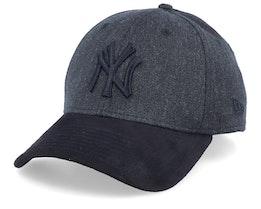 New York Yankees 39Thirty Heather Black/Black Flexfit - New Era