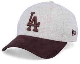 Los Angeles Dodgers 39Thirty Heather Oat/Burn Flexfit - New Era