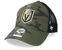 Vegas Golden Knights 47 Mvp Mesh Camo/Black Trucker - 47 Brand