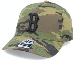 Boston Red Sox Grove Mvp DT Camo/Black Adjustable - 47 Brand