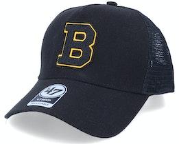 Boston Bruins Mvp DT Chain Link Black/Yellow Trucker - 47 Brand
