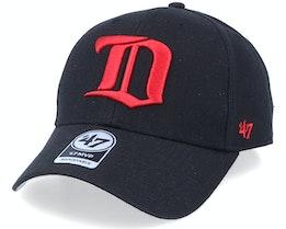 Detroit Red Wings Mvp Vintage Black/Red Adjustable - 47 Brand