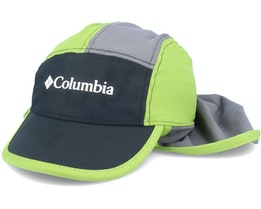 Kids Junior™ Ii Cachalot Black/City Grey/Green Ear Flap - Columbia