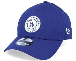 Los Angeles Dodgers Circle Patch 9Forty Blue/White Adjustable - New Era