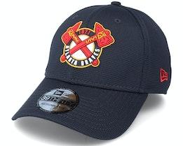 Atlanta Braves Of Clubhouse MLB French Navy 39Thirty Flexfit  - New Era
