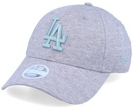Los Angeles Dodgers Women Jersey Essential 9Forty Grey/Mint Adjustable - New Era