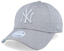 New York Yankees Women Iridescent 9Forty Grey/Silver Adjustable - New Era