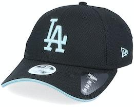 Los Angeles Dodgers Womens  Era 9Forty Black/Light Blue Adjustable - New Era