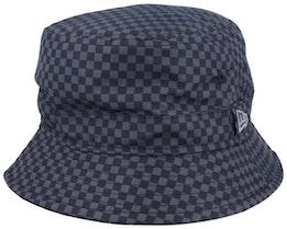 Mono Checkered Black/Grey Bucket - New Era