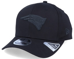 New England Patriots Tonal 9Fifty Stretch Snap Black/Black Adjustable - New Era