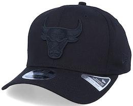 Chicago Bulls Tonal 9Fifty Stretch-Snap Black/Black Adjustable - New Era
