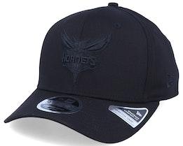 Charlotte Hornets Tonal 9Fifty Black/Black Adjustable - New Era