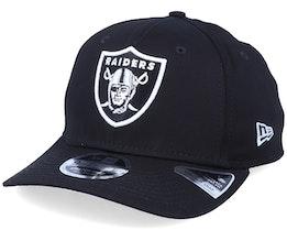 Oakland Raiders 9Fifty Team Stretch Snap Black/White Adjustable - New Era
