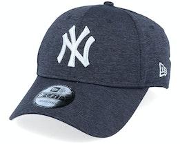 New York Yankees Shadow Tech 9Forty Dark Blue/White Adjustable - New Era