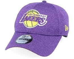 LA Lakers Shadow Tech 9Forty Heather Purple/Yellow Adjustable - New Era