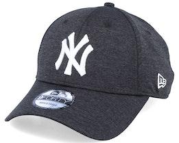 New York Yankees Shadow Tech 9Forty Heather Black/White Adjustable - New Era