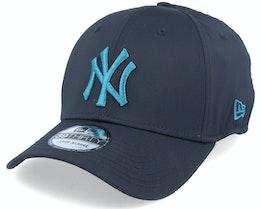New York Yankees Seasonal Colour 39Thirty Neyyan Navy/Teal - New Era