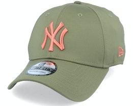 New York Yankees Seasonal Colour 39Thirty November Green/Copper Flexfit - New Era