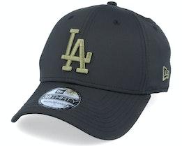 LA Dodgers Seasonal Colour 39Thirty Black/Olive Flexfit - New Era