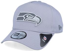 Seattle Seahawks A-Frame Light Grey/Grey Adjustable - New Era