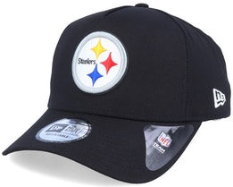 Pittsburgh Steelers A-Frame Black/White Adjustable - New Era