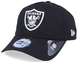 Oakland Raiders A-Frame Black/White Adjustable - New Era