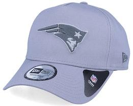 New England Patriots A-Frame Light Grey/Grey Adjustable - New Era