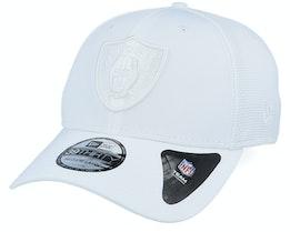Oakland Raiders NFL 39Thirty White/White Flexfit - New Era