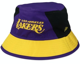 LA Lakers Team Purple/Yellow Bucket - New Era