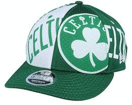 Boston Celtics All Over 9Fifty Low Profile Green/White Adjustable - New Era