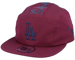 Los Angeles Dodgers Camper Maroon/Navy 5-Panel - New Era