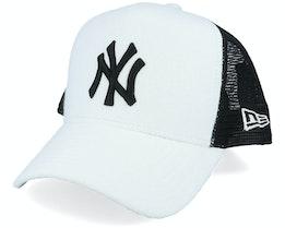 New York Yankees MLB Af White/Black Trucker - New Era