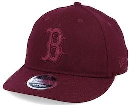 Boston Red Sox Retro-Crown 9Fifty Maroon Adjustable - New Era