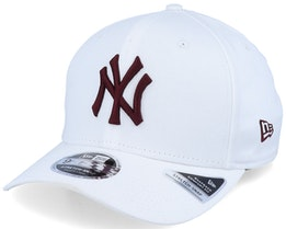 New York Yankees League Essential 9Fifty Stretch Snap White/Crimson Adjustable - New Era