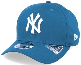 New York Yankees League Essential 9Fifty Stretch Snap Midnight Blue/White Adjustable - New Era