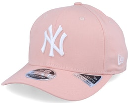 New York Yankees League Essential 9Fifty Stretch Snap Peach/White Adjustable - New Era