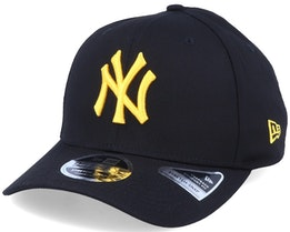 New York Yankees League Essential 9Fifty Stretch Snap Black/Yellow Adjustable - New Era