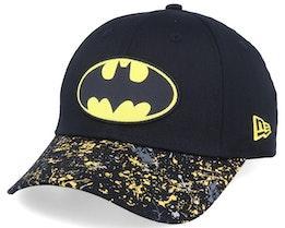 Kids Splatter 9Forty Batman Black/Yellow Adjustable - New Era