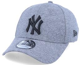 New York Yankees Jersey Essential 39Thirty Heather Grey/Black Flexfit - New Era