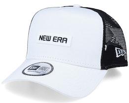 Essential A-Frame White/Black Trucker - New Era