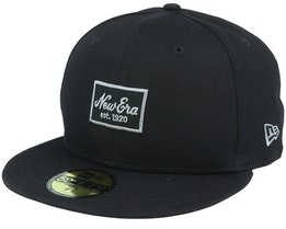 Essential NE 59Fifty Black/Grey Fitted - New Era