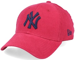 New York Yankees Corduroy Pack 9Forty Red/Navy Adjustable - New Era