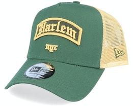 Harlem Borough Af Green Trucker - New Era