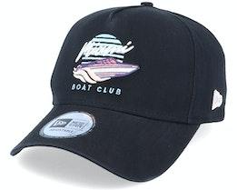 Beach Miami Boat Club Black Adjustable - New Era