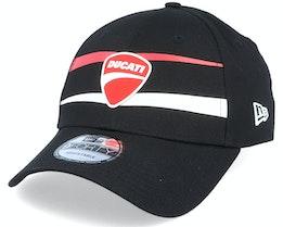 Ducati Sp20 Stripe 9Forty Black Adjustable - New Era
