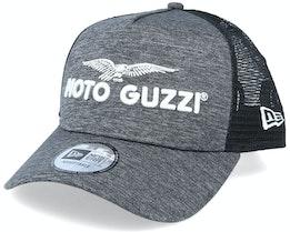 Moto Guzzi A-frame Grey/Black Trucker - New Era