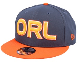 Orlando Magic 9Fifty Dark Grey/Orange Snapback - New Era