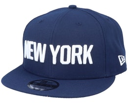New York Knicks 9Fifty Navy/White Snapback - New Era