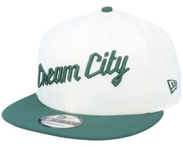 Milwaukee Bucks 9FIfty White/Green Snapback - New Era